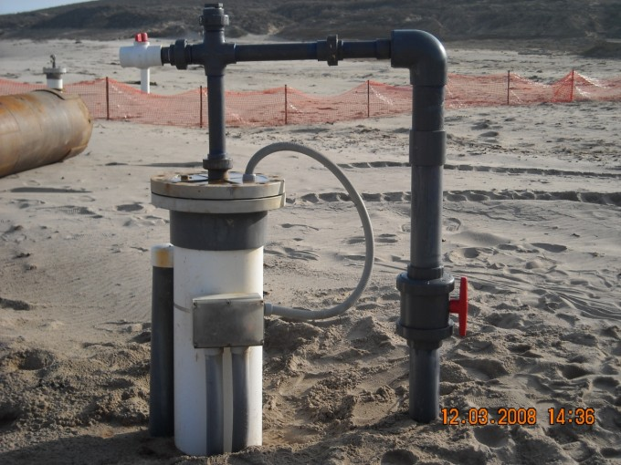 Design Build Sea Wells at San Nicolas Is.