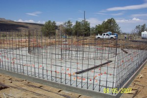 Foundation rebar 3