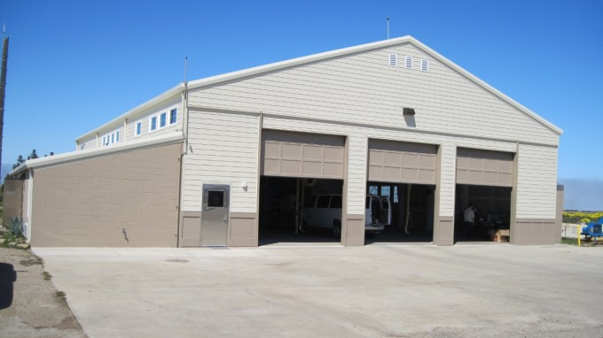 Repair Building 144, Aircraft Fire and Rescue Station on San Nicolas Island