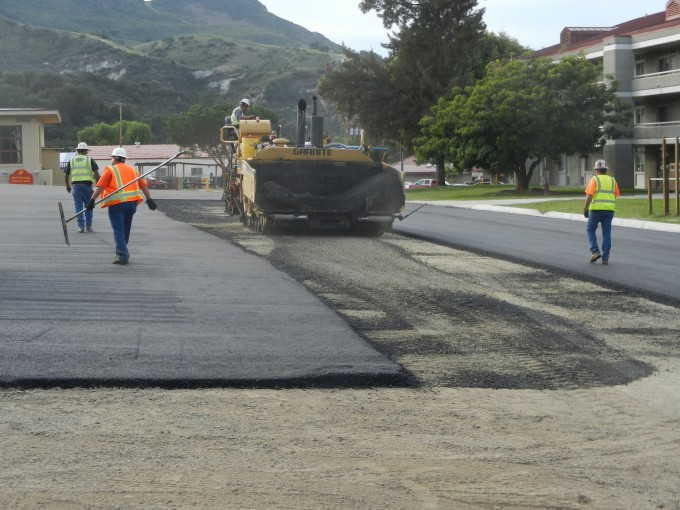 Reconstruct Parade Ground and Parking Lot in 53 Area