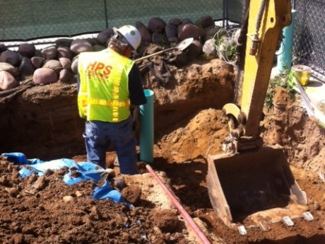Replace Existing Steel Natural Gas Line with HDPE at 210802