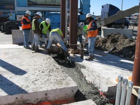 RPM Installation at Barbours Cut Terminal L-Street Truck Exit Port of Houston, Houston,TX