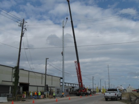 Design Build 5c Wireless Tower and Equipment Port of Houston