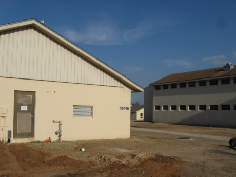 Site Prep and Electrical for Portable Arms Rooms