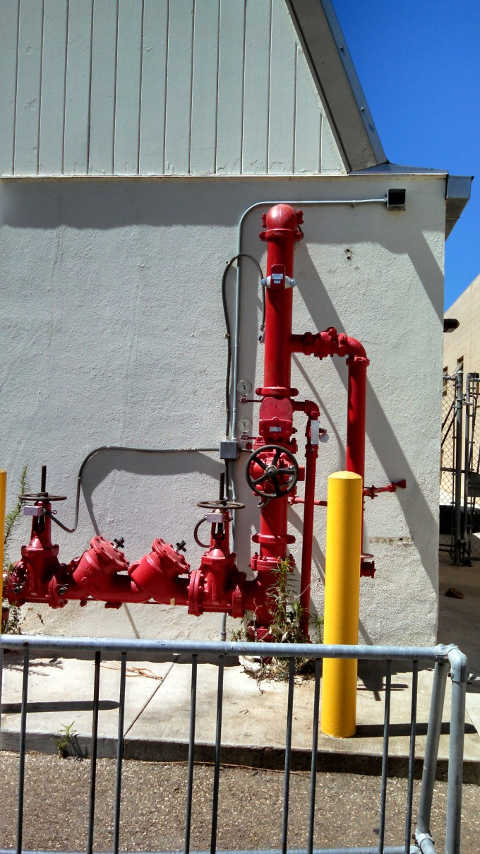 Gamewell 6 Interior and Exterior Fire Alarm Replacements at Point Mugu Naval Base Ventura County