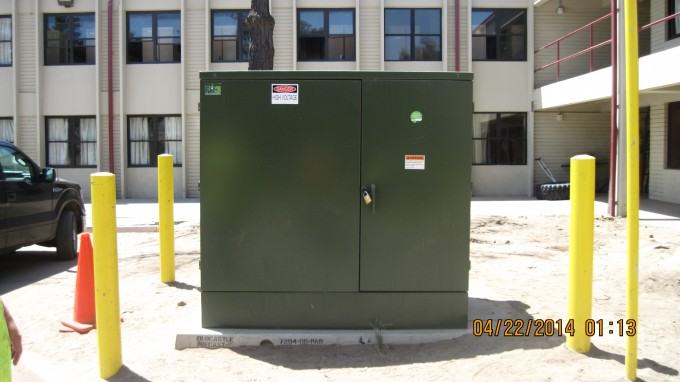 Replace Electrical Transformer at Building 520442