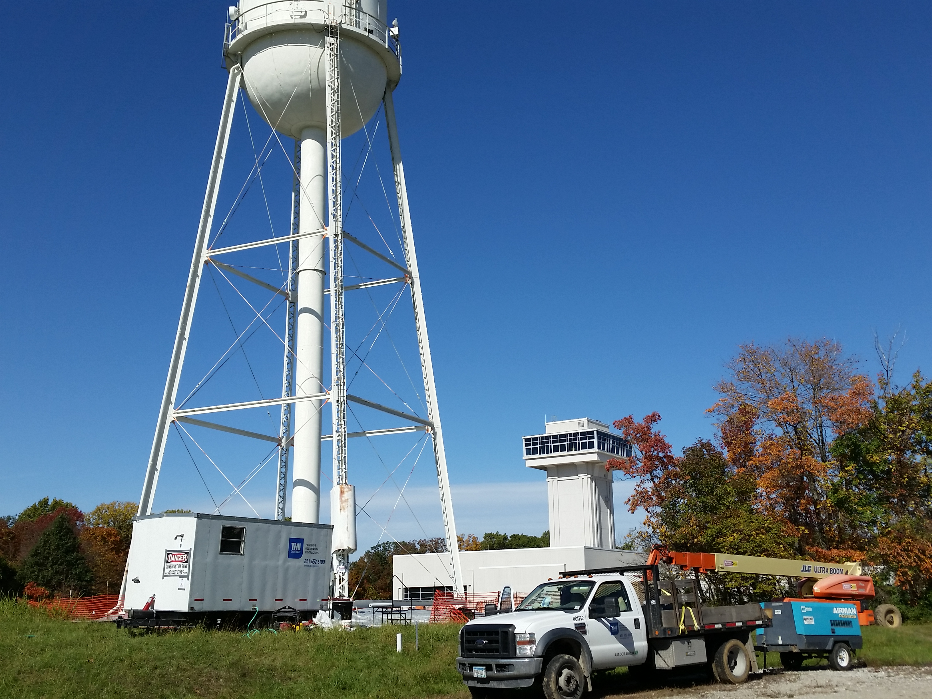 Elevated Water Tower #2 and #5 Painting and Repairs | Fedcon Group